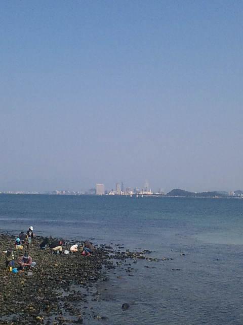 博多湾と潮干狩り